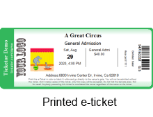 print at home ticket with barcode