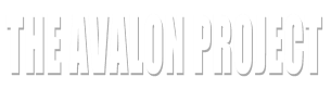The Avalon Project