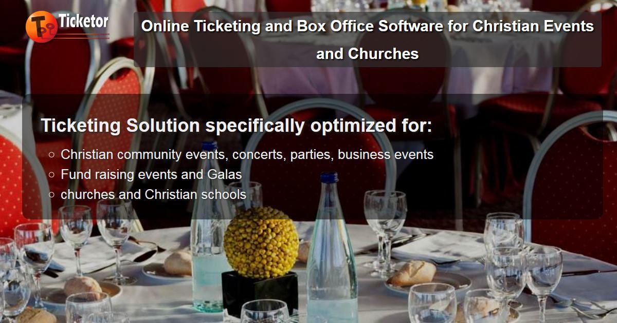 Solución de venta de entradas y boletería en línea para eventos cristianos escuelas Iglesias fiestas para recaudar fondos Templos Galas.jpg