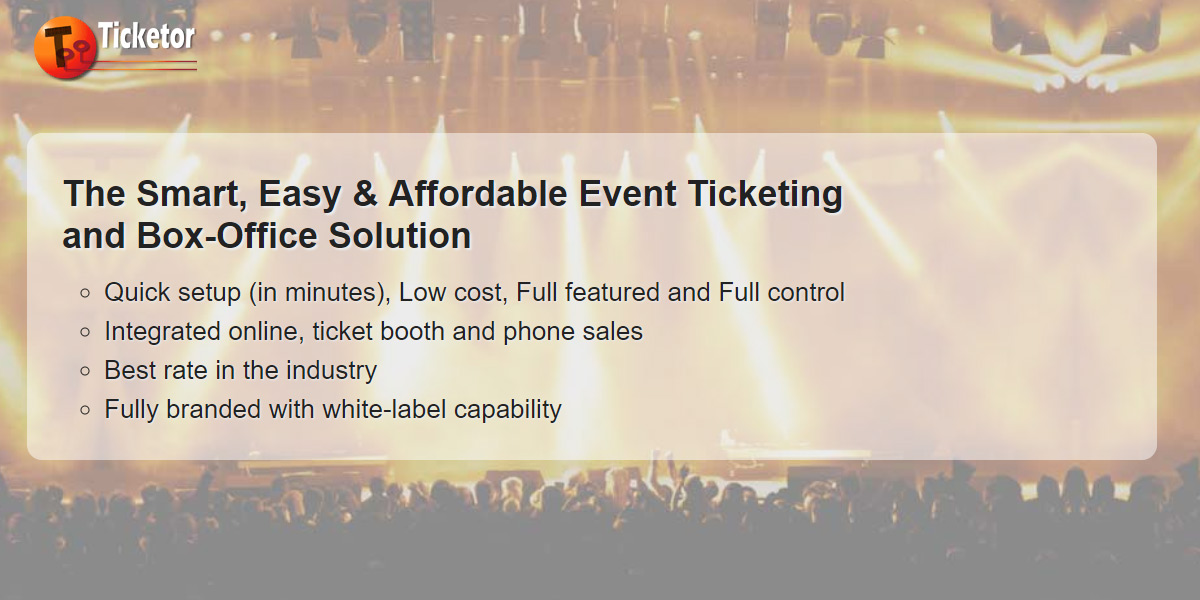 Ticketor - Online ticket sale and box office solution