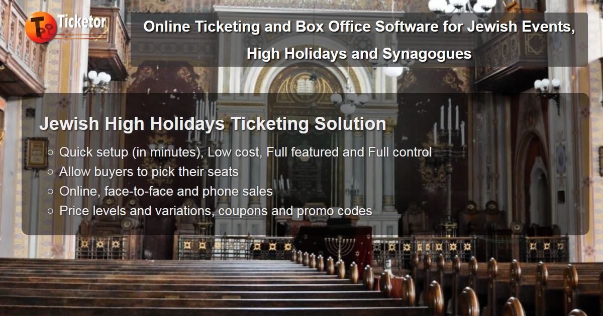 Sell tickets for jewish high holidays rosh hashana yom kipur synagogues temples.jpg