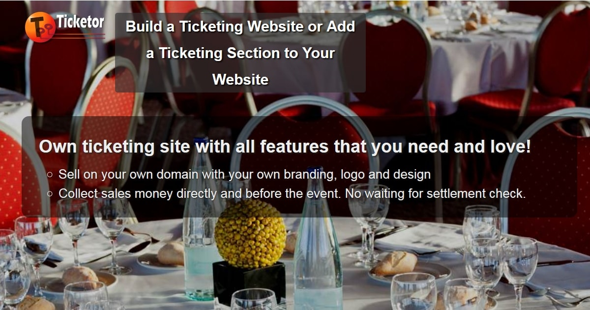 own powerful ticketing website and sell on your own website.jpg