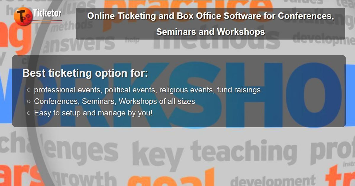 sell tickets online for Conferences Seminars and Workshops political professional religious events.jpg