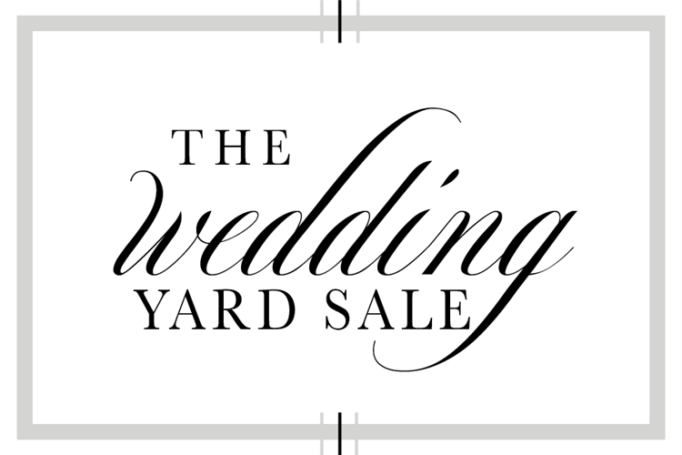The Wedding Yard Sale