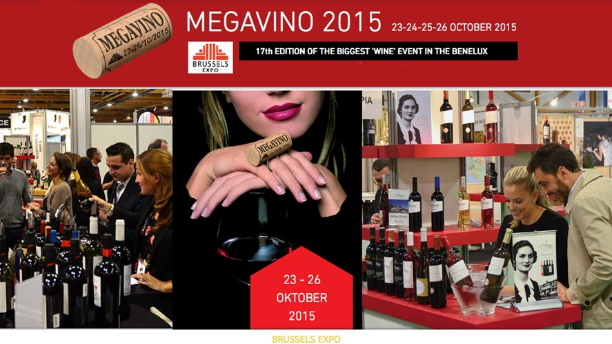MEGAVINO - 17th edition of the biggest 'wine' event in the Benelux