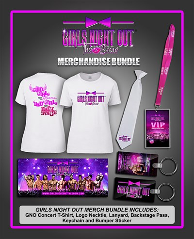 Girls Night Out Merchandise Bundle -          LIMITED AVAILABILITY